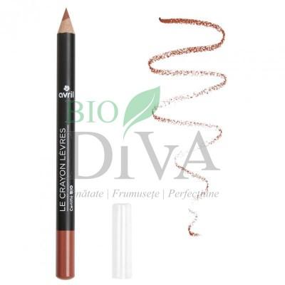 Creion contur buze cu unt de shea Nude AVRIL