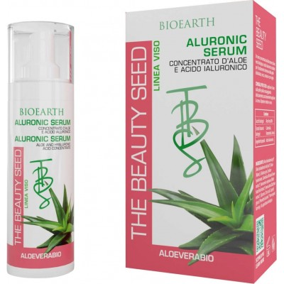 Aluronic serum (aloe cu acid hialuronic) BIOEARTH