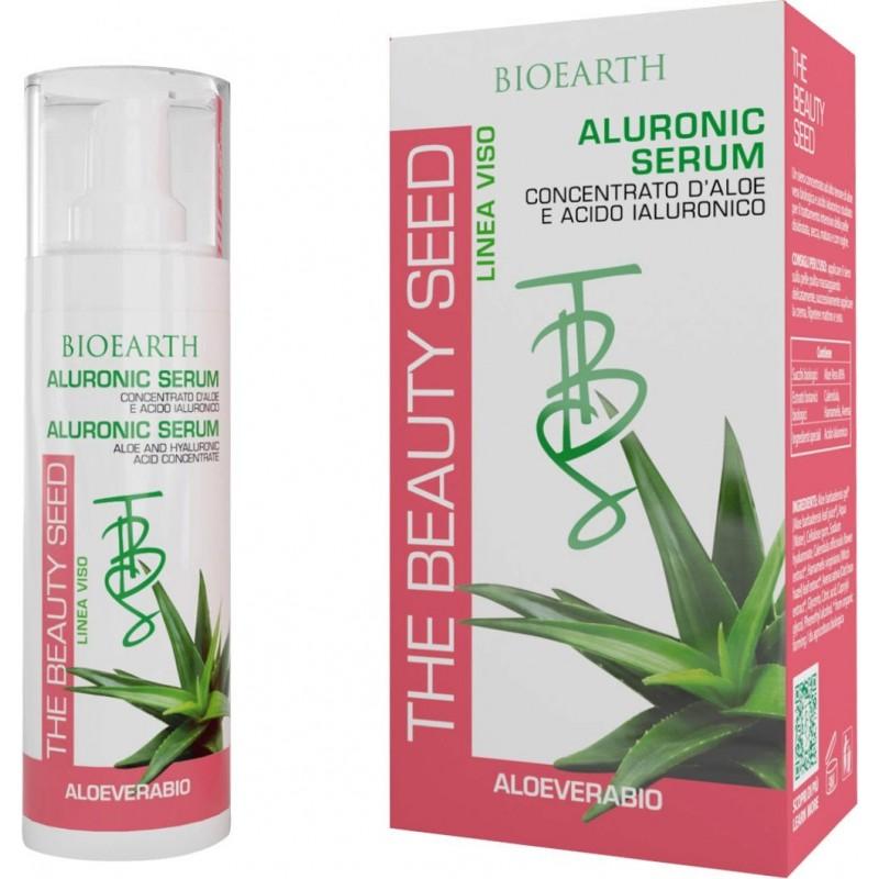 Aluronic serum (aloe cu acid hialuronic) BIOEARTH