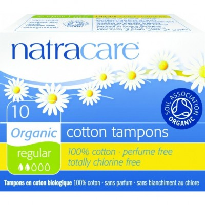 Tampoane normal pachet de 10 buc Natracare