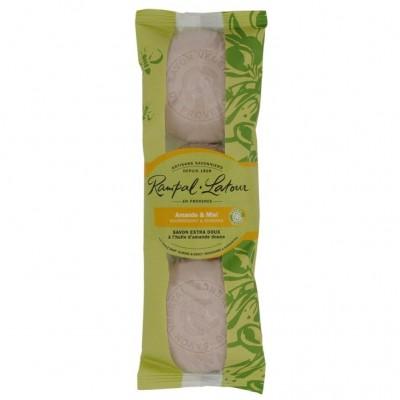 Pachet 3 sapunuri naturale cu migdale si miere RAMPAL LATOUR