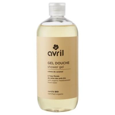 Gel de duș bio cu caramel Avril
