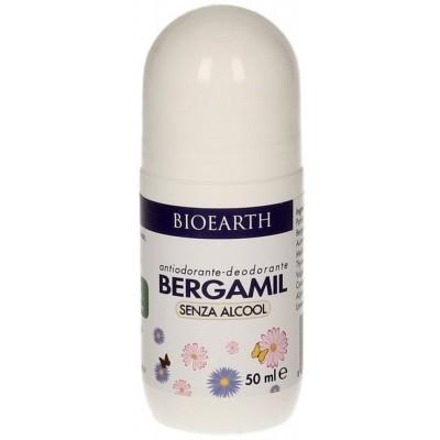 Deodorant Bergamil cu piatră de alaun și uleiuri esențiale BIOEARTH