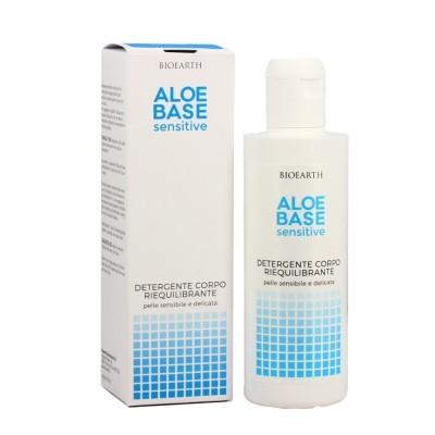 Gel de duș pentru piele sensibilă Aloebase Bioearth