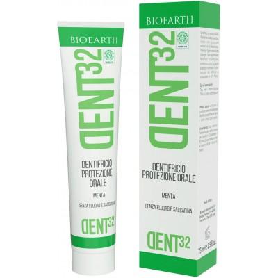 Pastă de dinți bio cu mentă DENT32 BIOEARTH