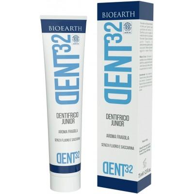 Pastă de dinți bio pentru copii DENT32 BIOEARTH