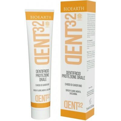 Pastă de dinți homeopată cu cuișoare DENT32 BIOEARTH