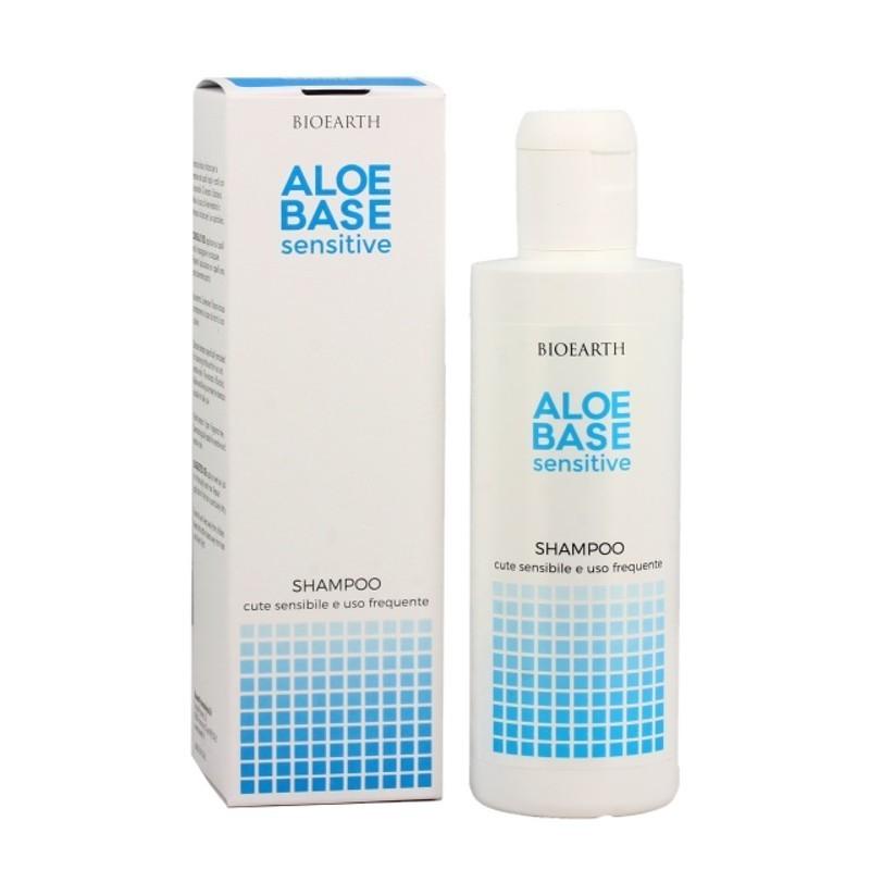 Șampon uz frecvent pentru scalp sensibil Aloebase Bioearth