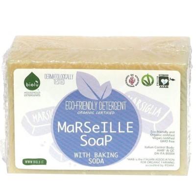 Săpun solid de Marsilia ecologic pentru rufe 140g BIOLU