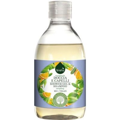 Gel de duș și șampon cu provitamina B5 ecologic BIOLU
