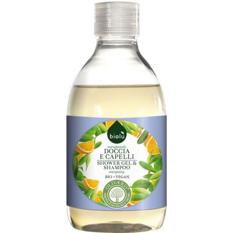Gel de duș și șampon ecologic cu provitamina B5 BIOLU