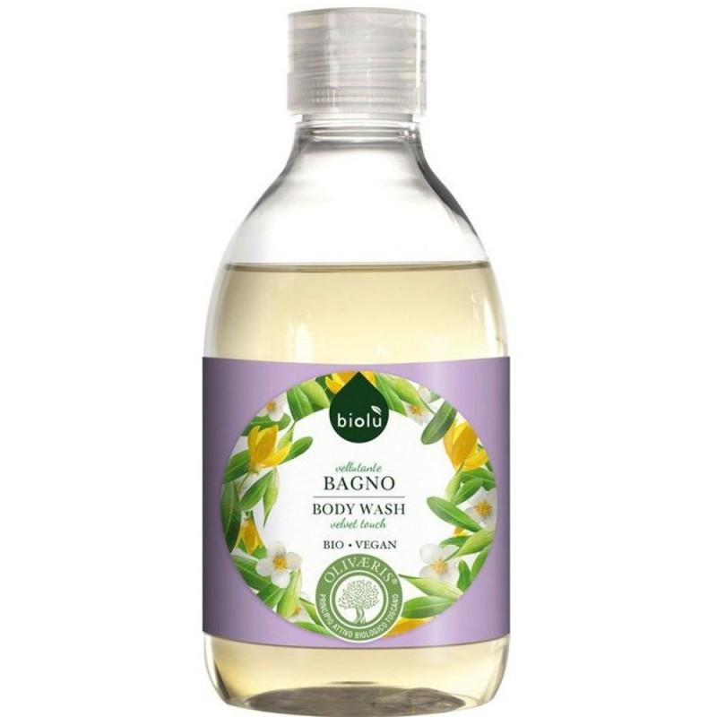 Gel de duș ecologic cu ylang-ylang și vitamina E 300ml BIOLU