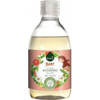 Șampon ecologic cu grapefruit pentru copii Biolu