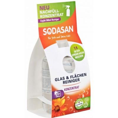 Soluție concentrată bio de curațare a geamurilor 100ml Sodasan