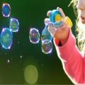 Baloane de săpun ecologice pentru copii