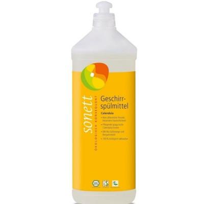 Detergent ecologic pentru spălat vase cu gălbenele 1L SONETT
