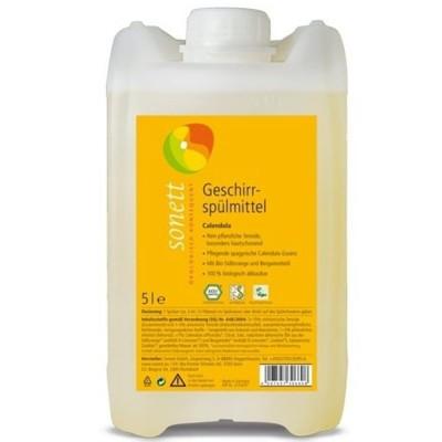 Detergent ecologic pentru spălat vase cu gălbenele 5L SONETT