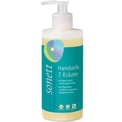 Săpun lichid și gel de duș ecologic cu 7 esențe epure SONETT