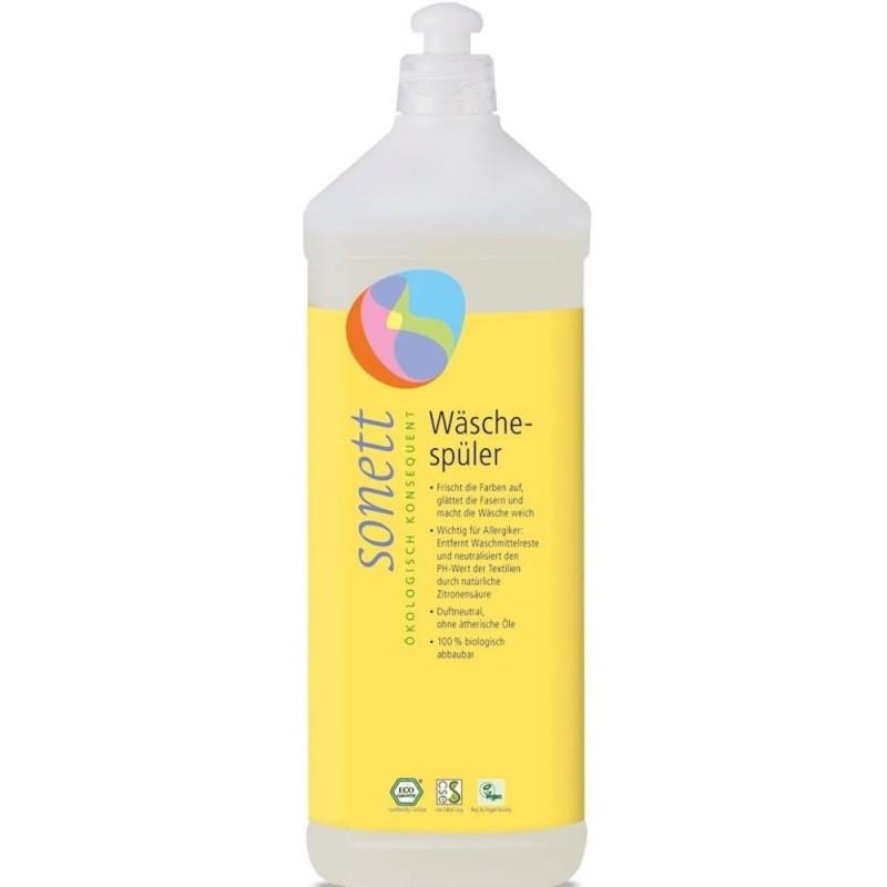 Soluție ecologică balsam pentru clătire rufe 1L SONETT