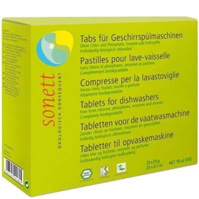 Tablete ecologice pentru mașina de spălat vase 500g SONETT