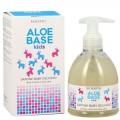 Săpun lichid bio cu lapte de măgăriță pentru copii Aloebase Bioearth