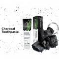 Pastă de dinți neagră pentru albire cu cărbune activ și ceai verde Matcha Nordics