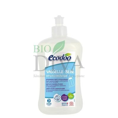 Detergent hipoalergenic biberoane si vesela bebelusi ECODOO