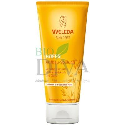 Balsam regenerant cu ovăz pentru păr uscat sau deteriorat Weleda